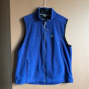 G. H. Bass & Co. Zip Up Fleece Vest XL